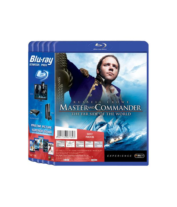 Blu Ray Starter Pack Master And Commander Home Alone 2 Avpr