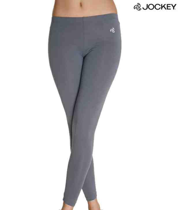 38d30601e7 Jockey Glamorous Grey Leggings Price in India - Buy Jockey Glamorous Grey  Leggings Online at Snapdeal