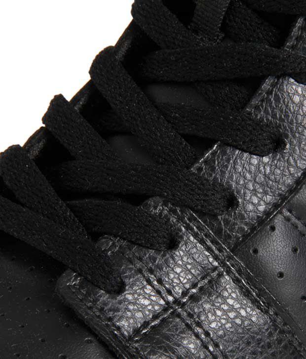 ... Nike Liteforce Mid SL Black Ankle Length Shoes ...