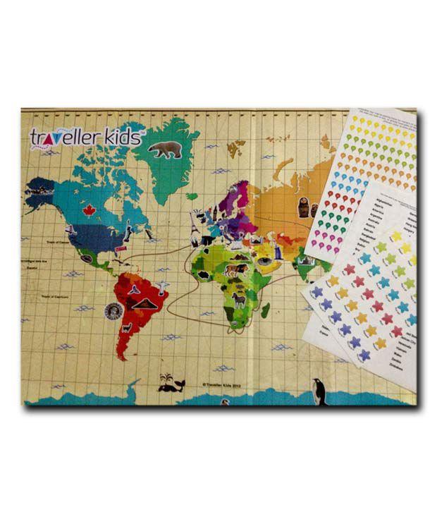 Traveller Kids Interactive World Map Kit Buy Traveller Kids - Online interactive world map
