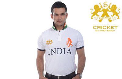 Sher Singh Men's India Polo Tee