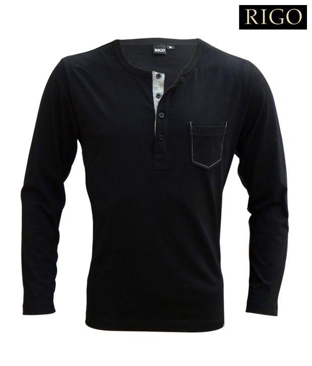 Rigo Shady Black T-Shirt