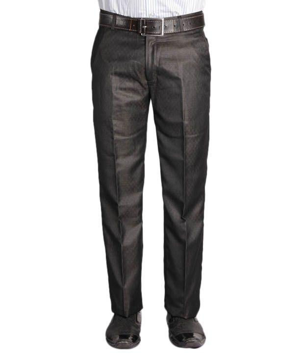Jogur Dark Olive Green Designer   Trouser