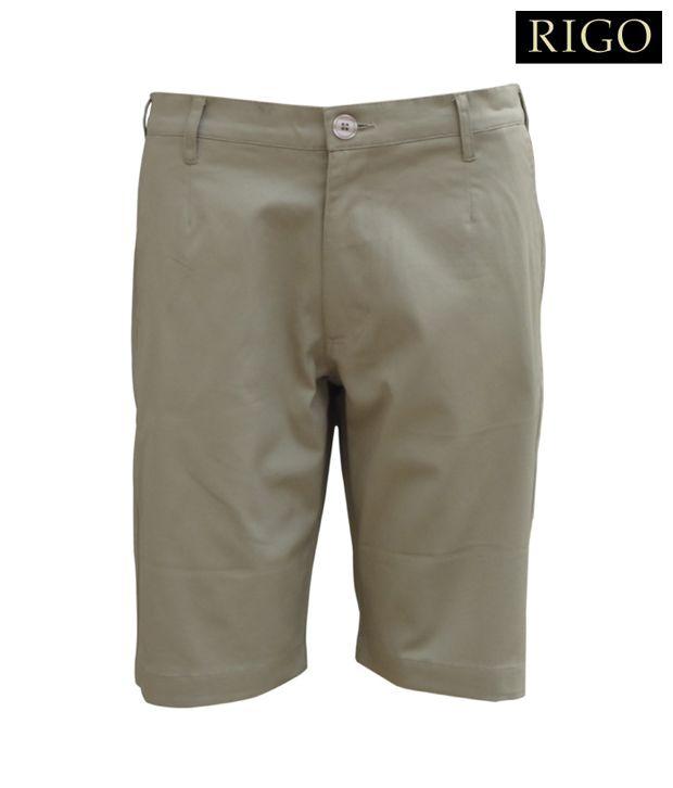 Rigo Beige Cargo Shorts