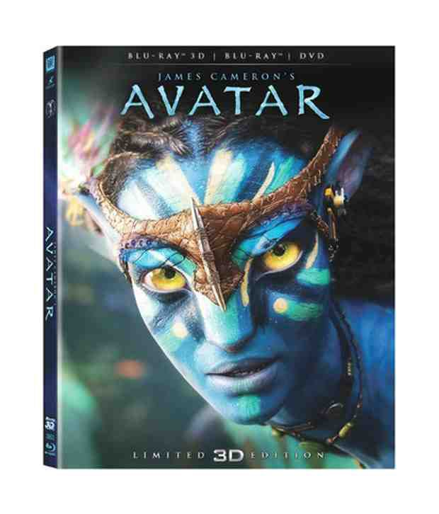 Avatar 3D Box Set (English) [Blu-ray 3D, Blu-ray & DVD