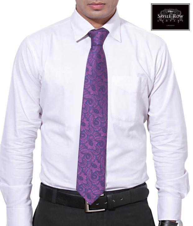 The Savile Row Floral Wonder Pink Necktie