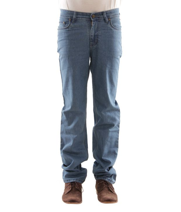 Zaab Jeans Light Blue Men's Jeans