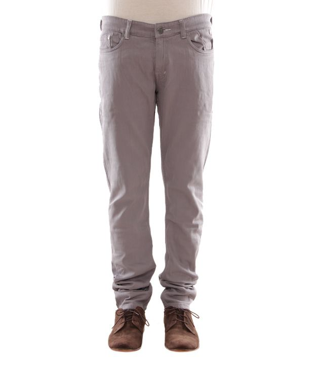 Zaab Light Grey Men's Jeans
