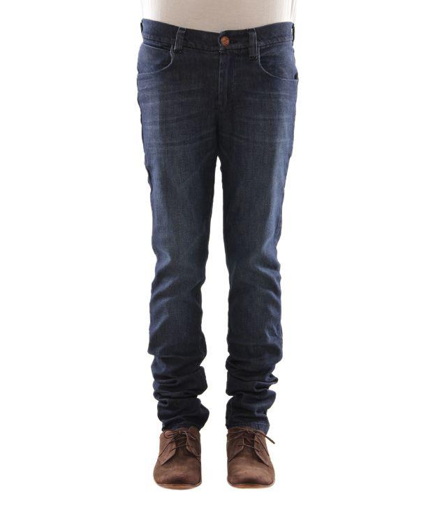 Zaab Cool Dark Blue Men's Jeans