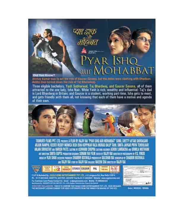 The Man Pyaar Ishq Aur Mohabbat Movie Download