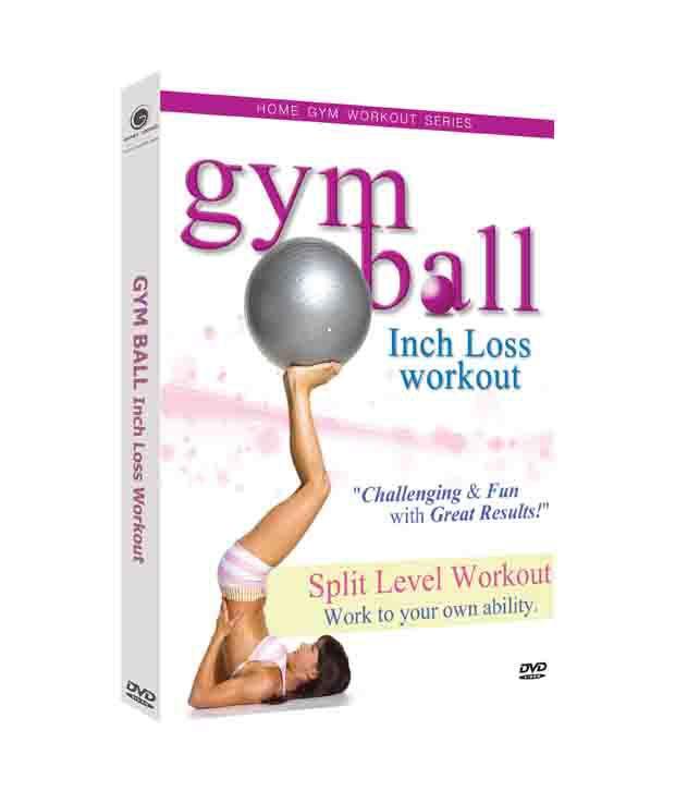 Home Gym Workout -Gym Ball Inch Loss Workout (English) [DVD]