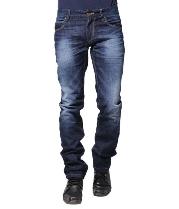 Sand Dunes Radiant Dark Blue Jeans