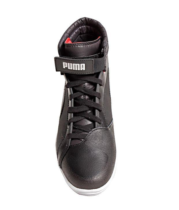 Puma Black Sneaker Shoes - Buy Puma Black Sneaker Shoes Online at ... a3455ef4e
