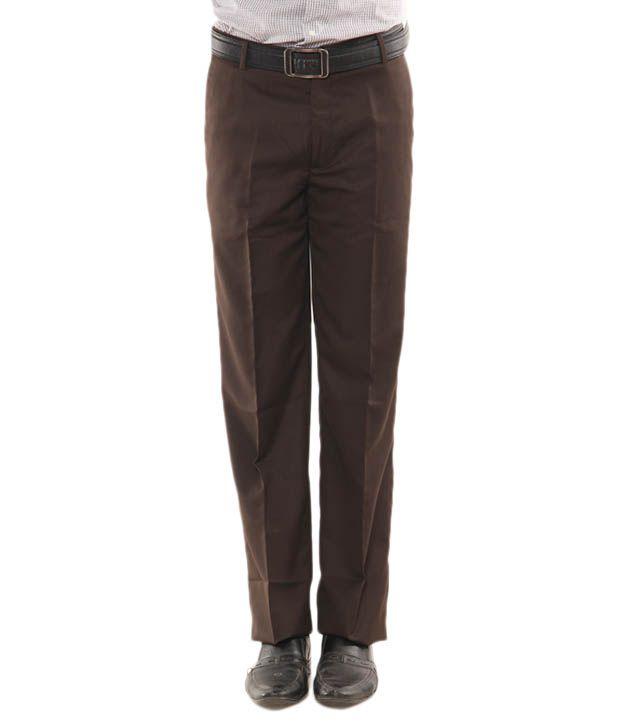John Players Brown Trouser