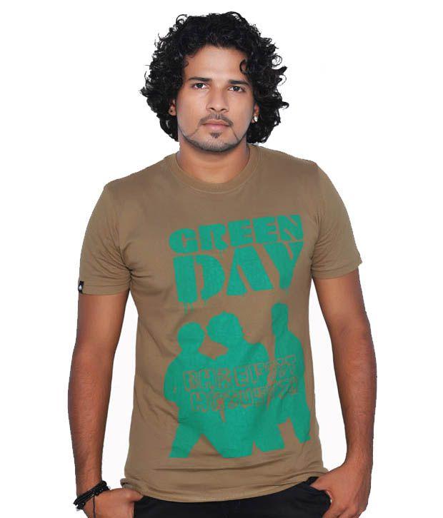 Tekki Khaki Green Day Men's T-Shirt