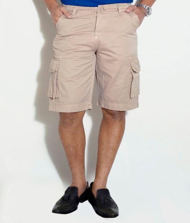 Globus Beige Shorts