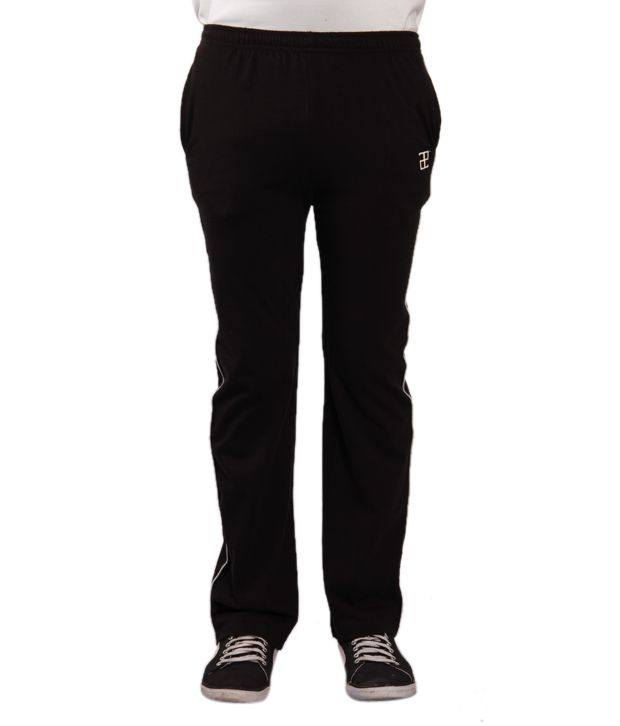 Adam n Eve Men's Black Track Pants
