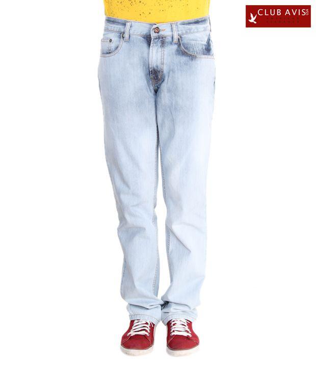 Club Avis USA Cool Light Blue Men's Jeans