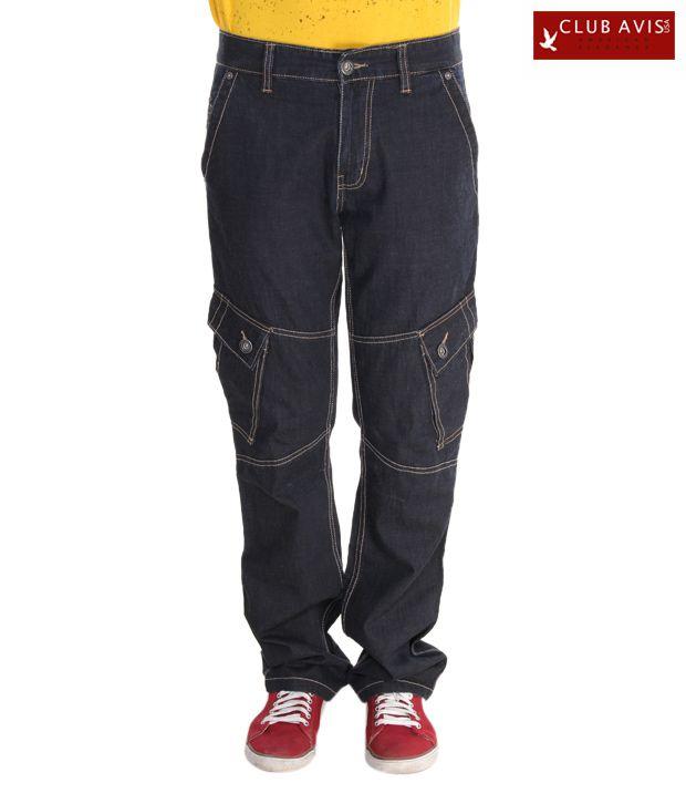 Club Avis USA Black Jeans