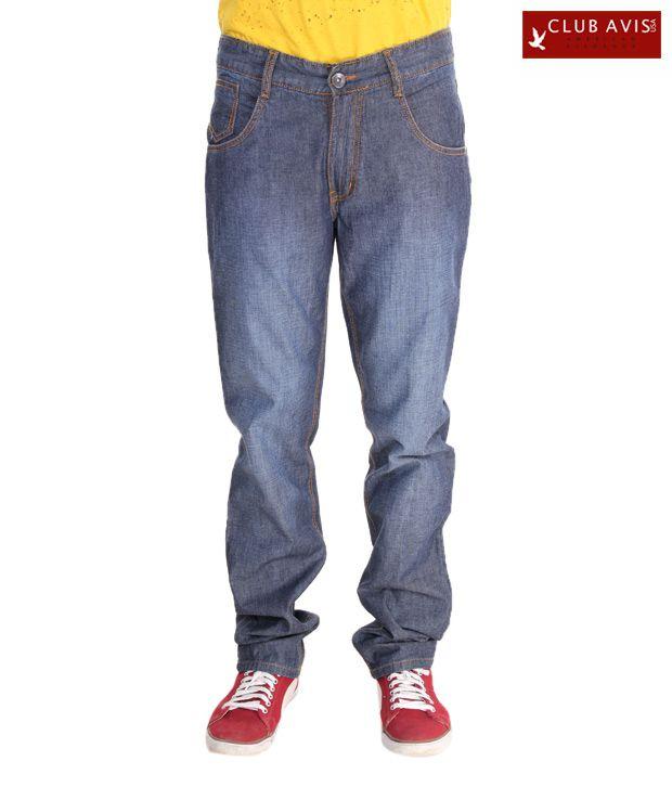 Club Avis USA Smart Dark Blue Jeans