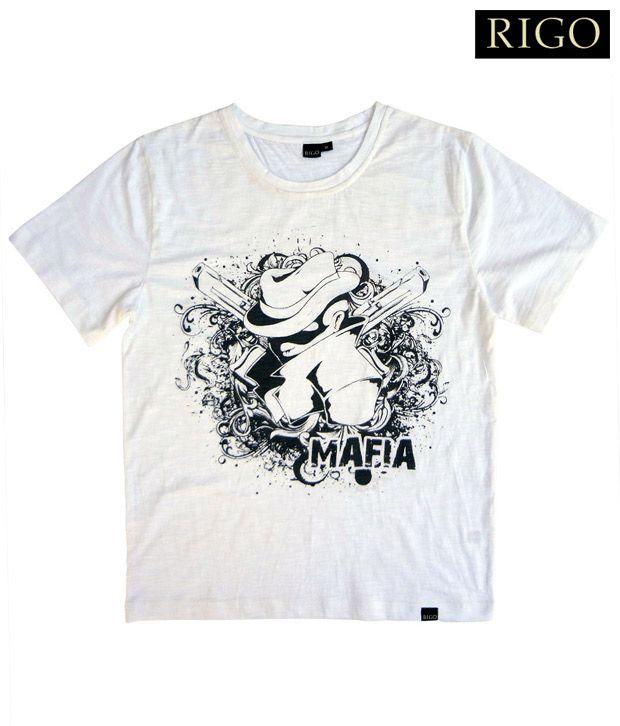 Rigo White Mafia T-Shirt