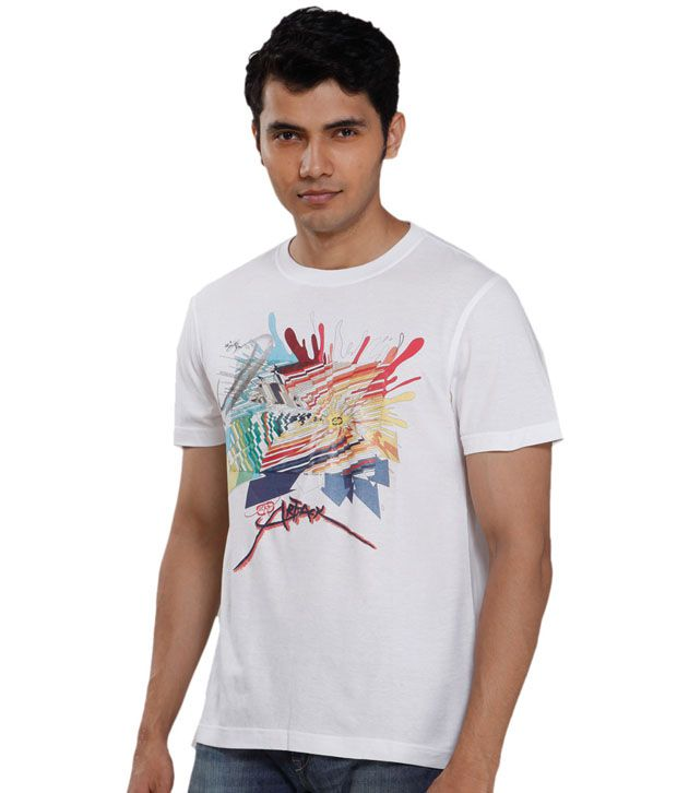 Ecko White Art Battle T-Shirt