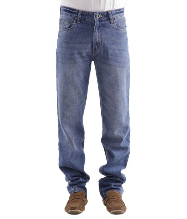 Jogur Stylish Light Blue Men's   Jeans