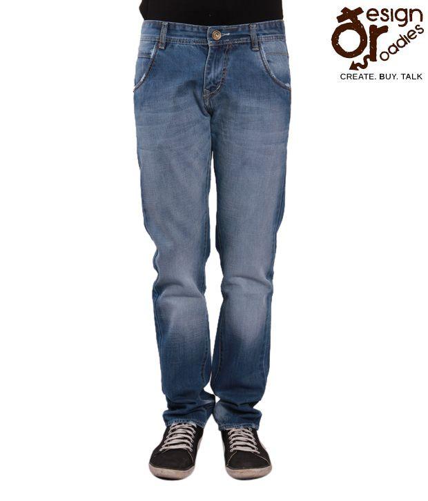 Design Roadies Light Blue Men's Jeans