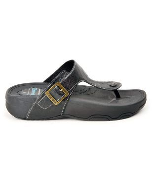 Skechers Black Textured Tone-Up Flats