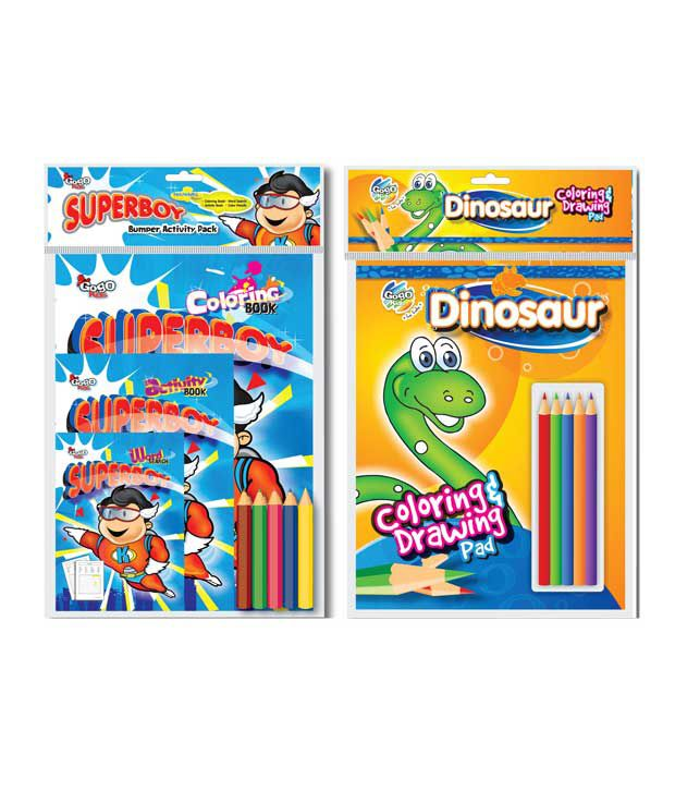 Gogo Kids Splash Board Pack Combo Pack (Pack of 2 sets)