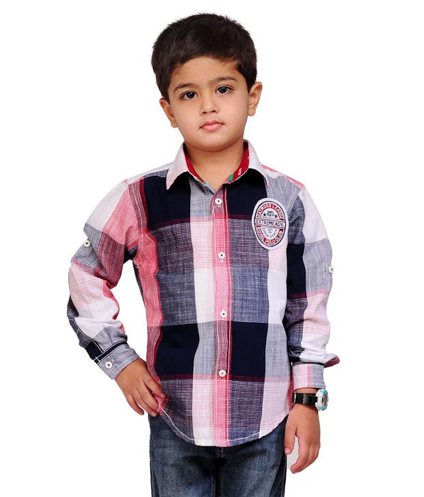 Catmoss Ultra Classic Checks Shirt For Kids