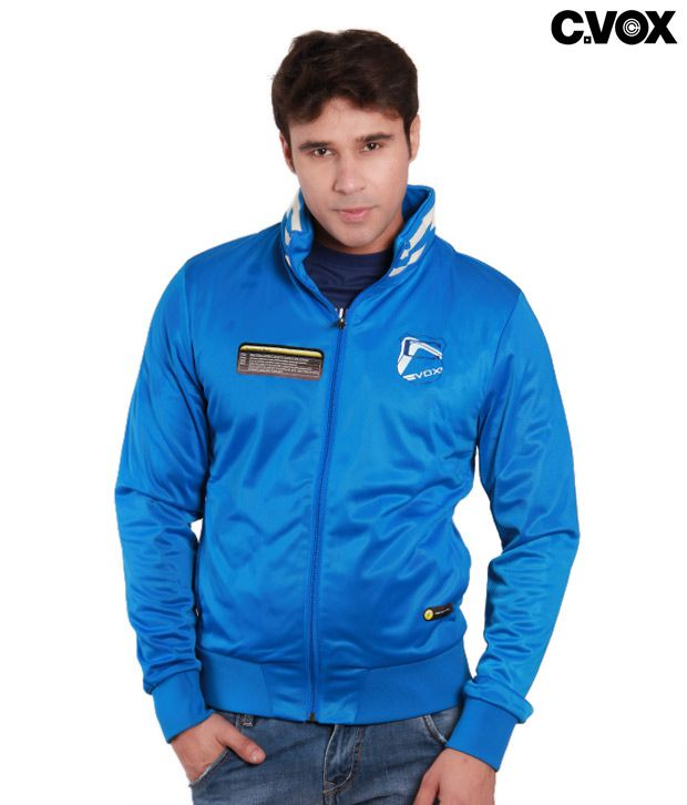 C Vox Radiant Blue Jacket with Additional Built-in Features
