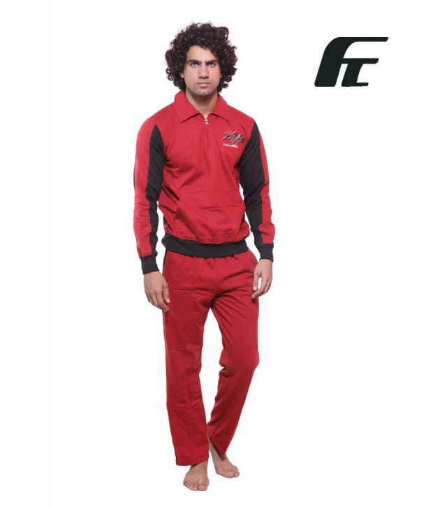 Fort Collins RED Track Suits