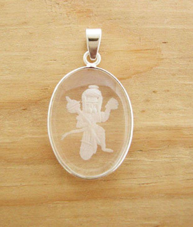 Designer Silver Sterling Silver Hanumanji Pendant