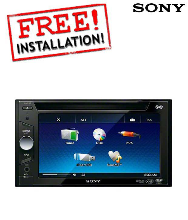 Sony - XAV 63 - Head Unit (With Free Installation)