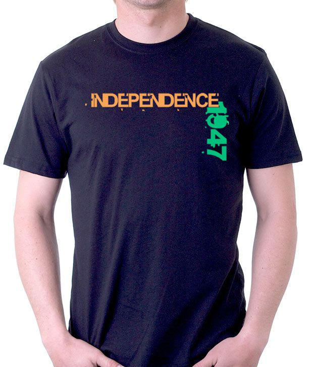 A for F Black Independence T-Shirt