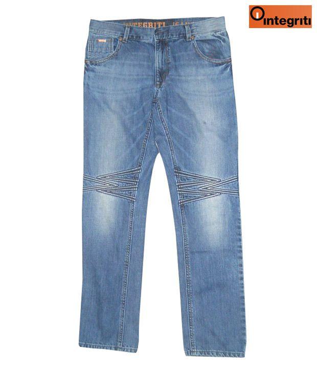 Integriti Designer Blue Men's Jeans