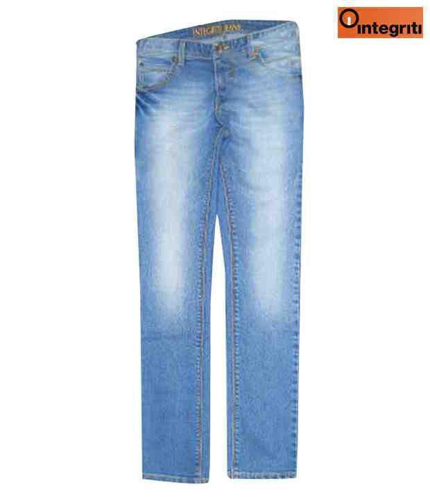 Integriti Light  Blue Smart Men's Jeans