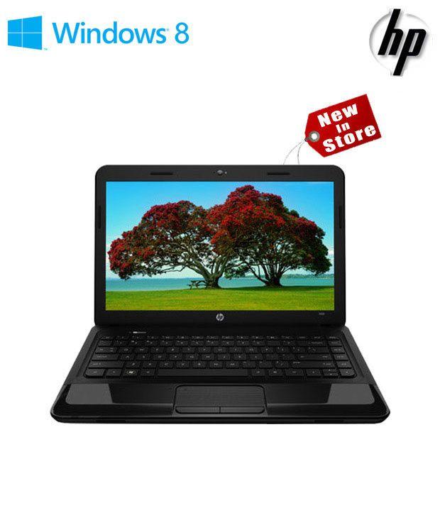 HP 1000-1205TU Laptop (2nd Gen Ci3/ 2GB/ 500GB/ Win8) (Glossy Imprint Black Licorice)