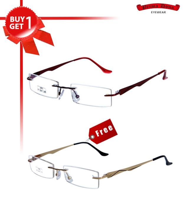Prima Dona Dazzling Red Buy 1 Get 1 Optical Frame