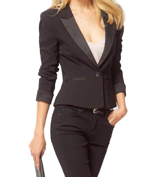 Lieben Mode Awesome Black Blazer Jacket