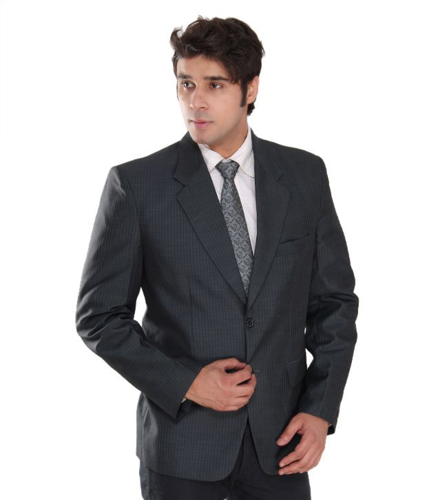 Westlife Classy Grey Men's  Blazer