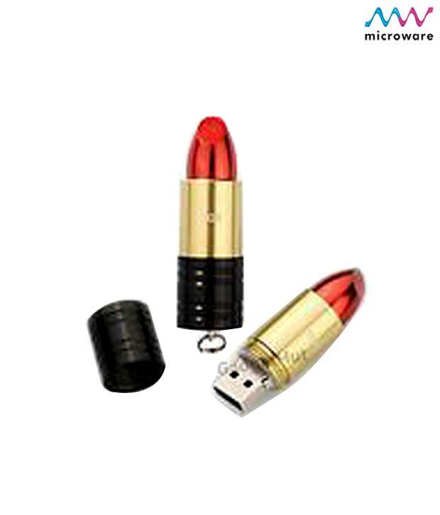 Microware-16GB-Lipstick-Shape-Designer-Pen-Drive