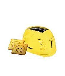 Euroline Smiley EL-820 2 Slice Pop Up Toaster