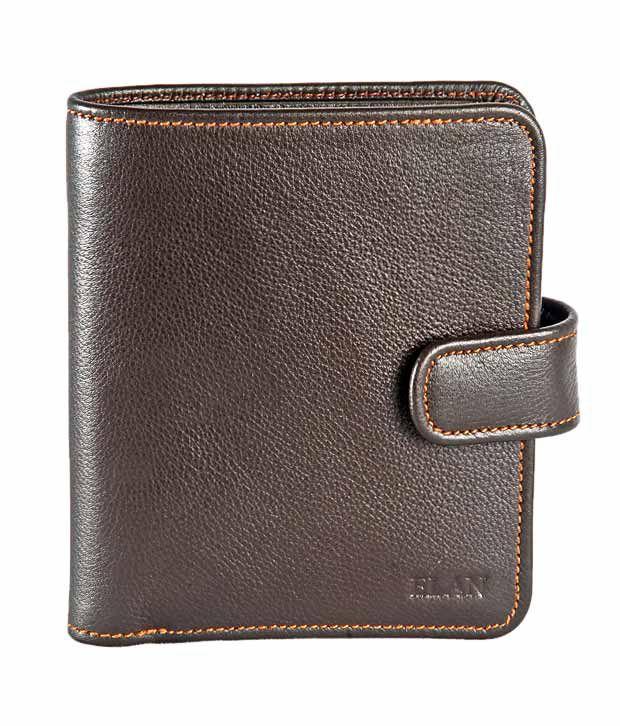 Elan Chocolate Brown Ladies Wallet