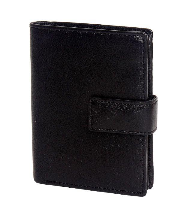 Deeanuz Black Unisex Long Wallet