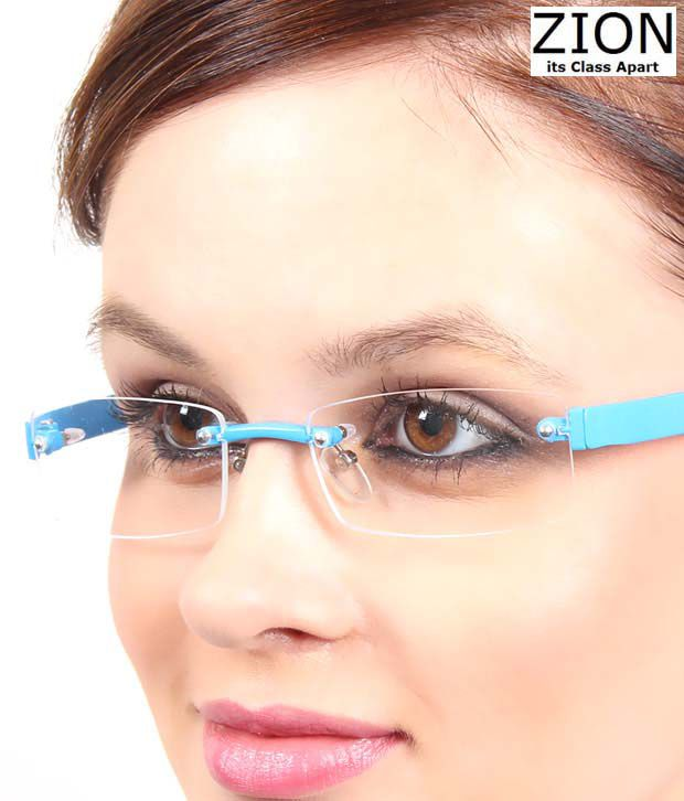 Zion Attractive Blue Optical Frame