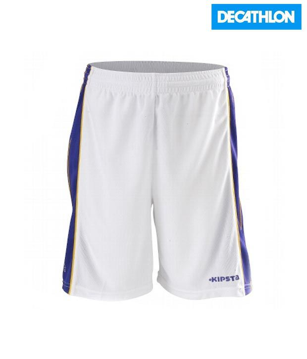 Kipsta SHORT-ROOKIE-JR-WHITE Basketball Apparel 8183845