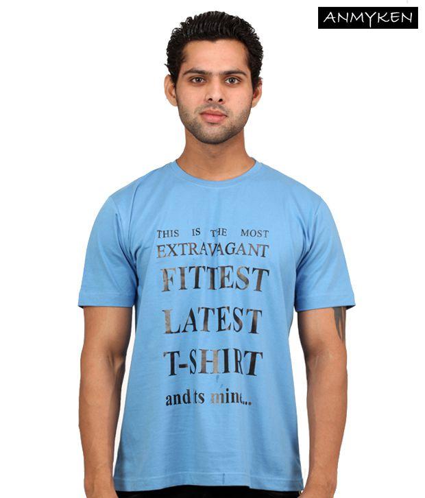 Johney B  Sky Blue T Shirt