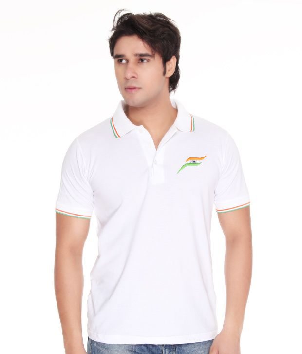 Casual tees india polo white t shirt buy casual tees for Polo t shirts india